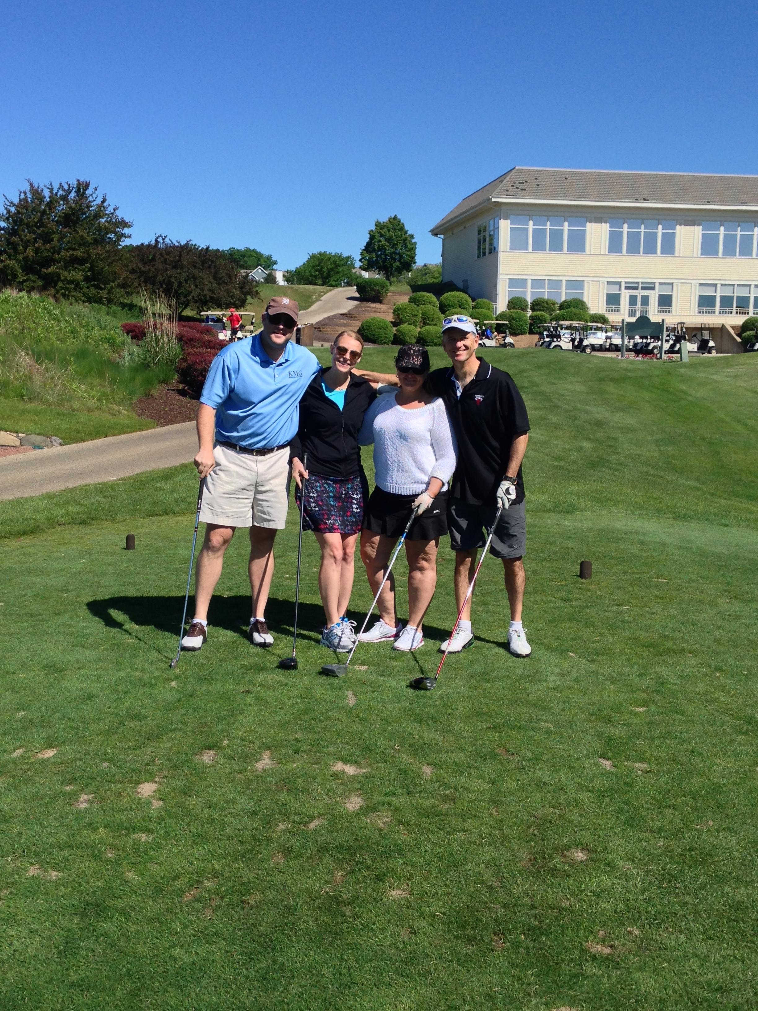 Scott McCain, Kristin Thomas, Jill Baker and Terry Donohue